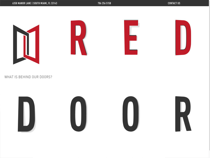 Red Door Construction - Portfolio - Cao Creative