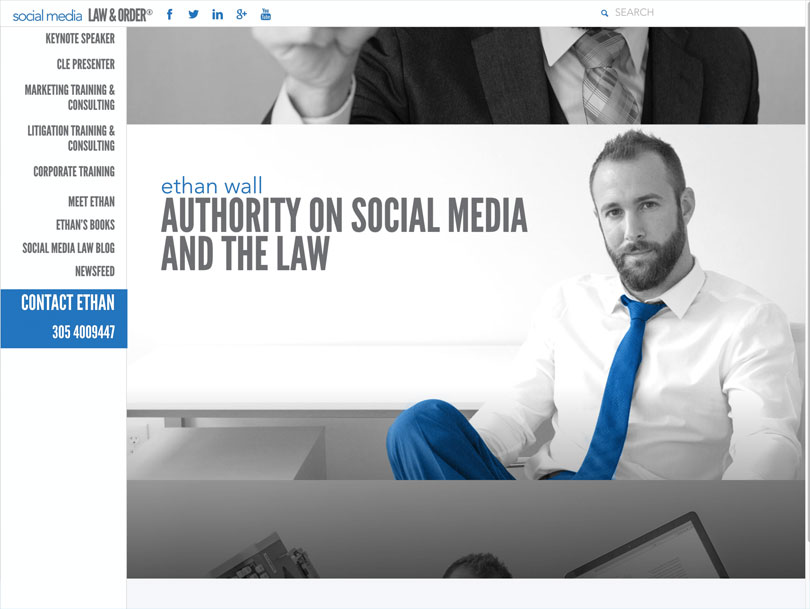 Social Media Law and Order - Portfolio - Cao Creative