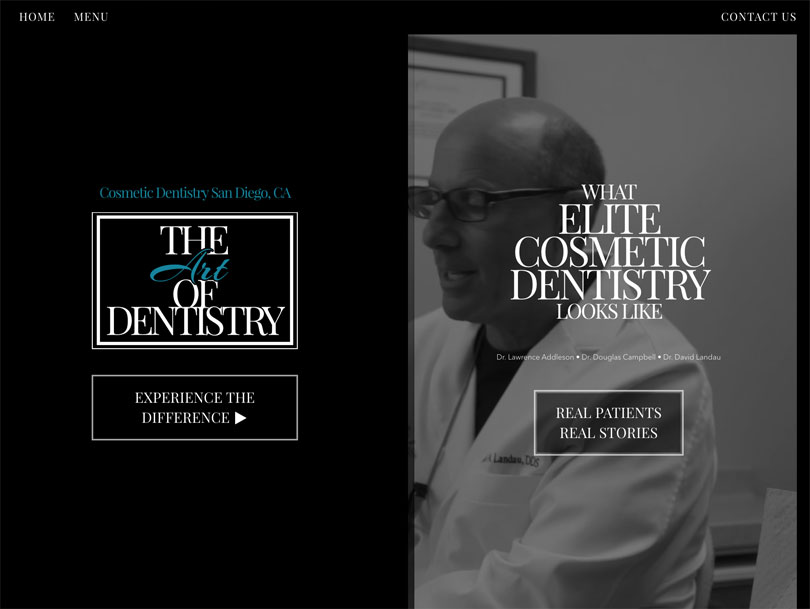 Art of Dentistry - Portfolio - Cao Creative