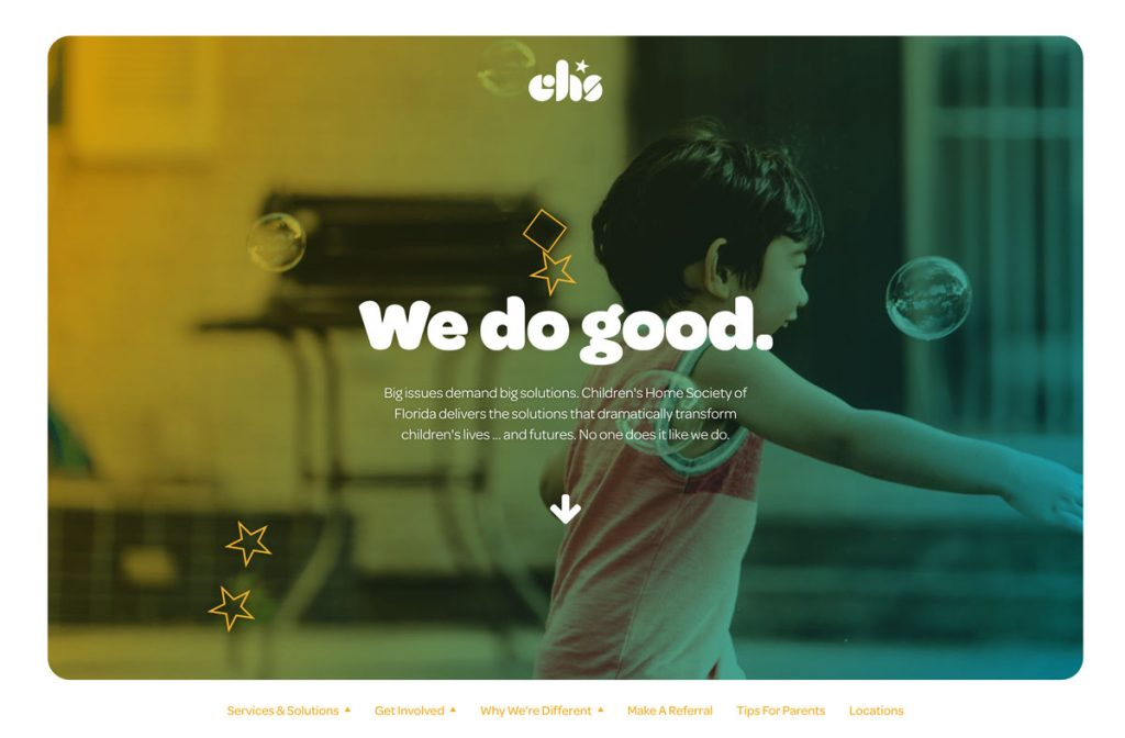 Children's Home Society - Portfolio - Cao Creative